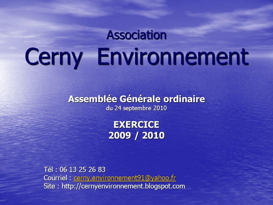 Association Cerny Environnement