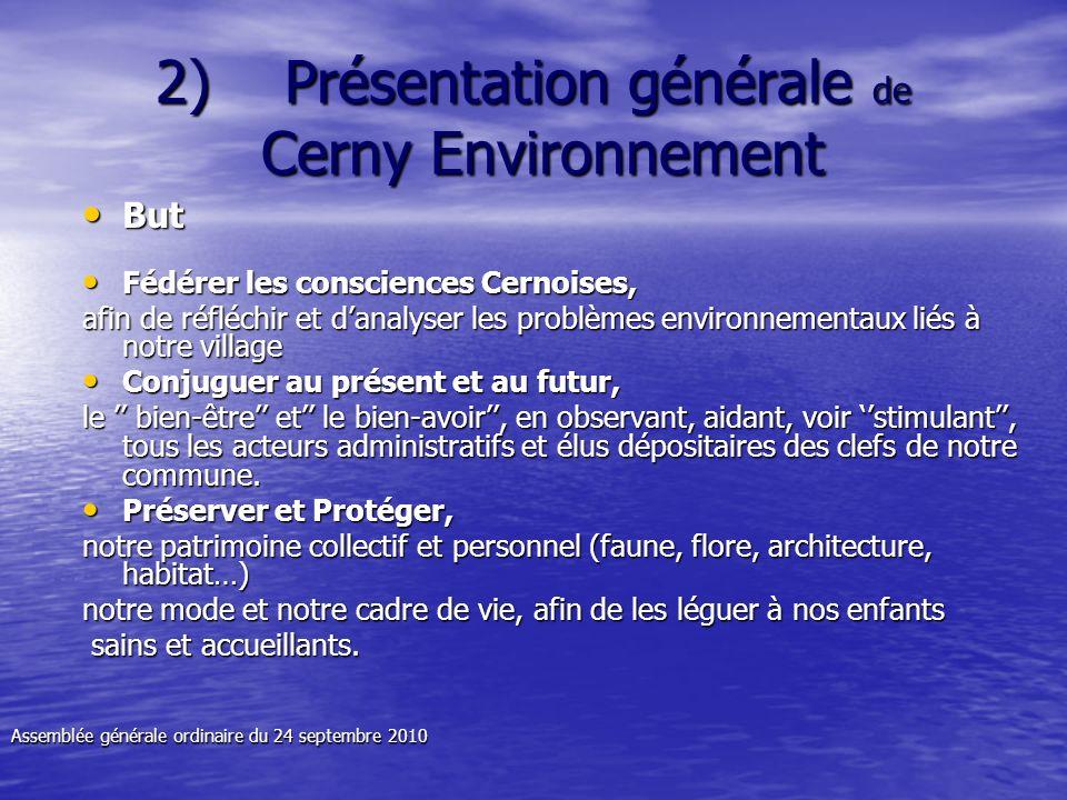 2) Présentation générale de Cerny Environnement