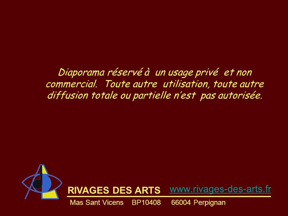 Diaporama réservé à un usage privé et non commercial