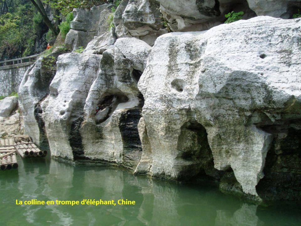 La colline en trompe d'éléphant, Chine