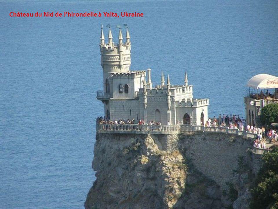 Château du Nid de l'hirondelle à Yalta, Ukraine