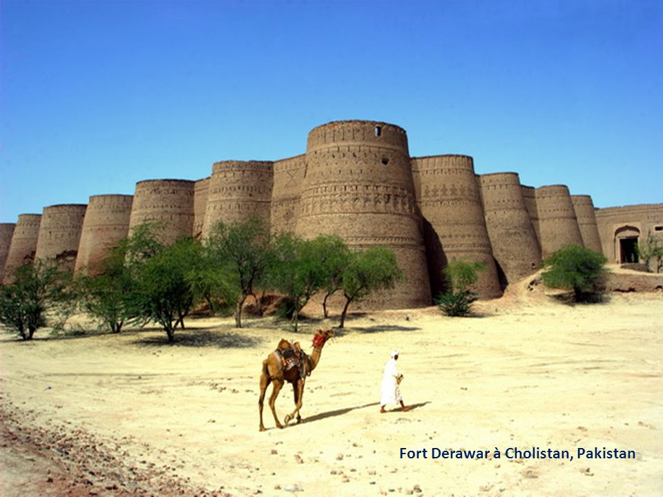 Fort Derawar à Cholistan, Pakistan
