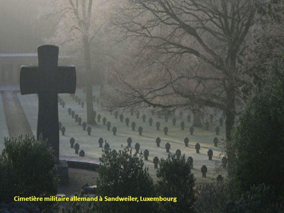 Cimetière militaire allemand à Sandweiler, Luxembourg