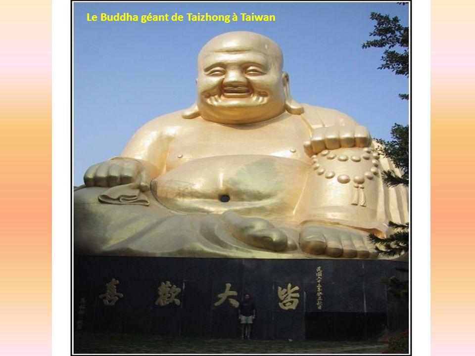Le Buddha géant de Taizhong à Taiwan