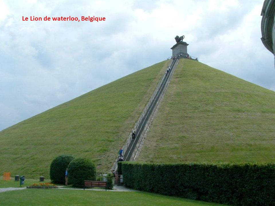 Le Lion de waterloo, Belgique