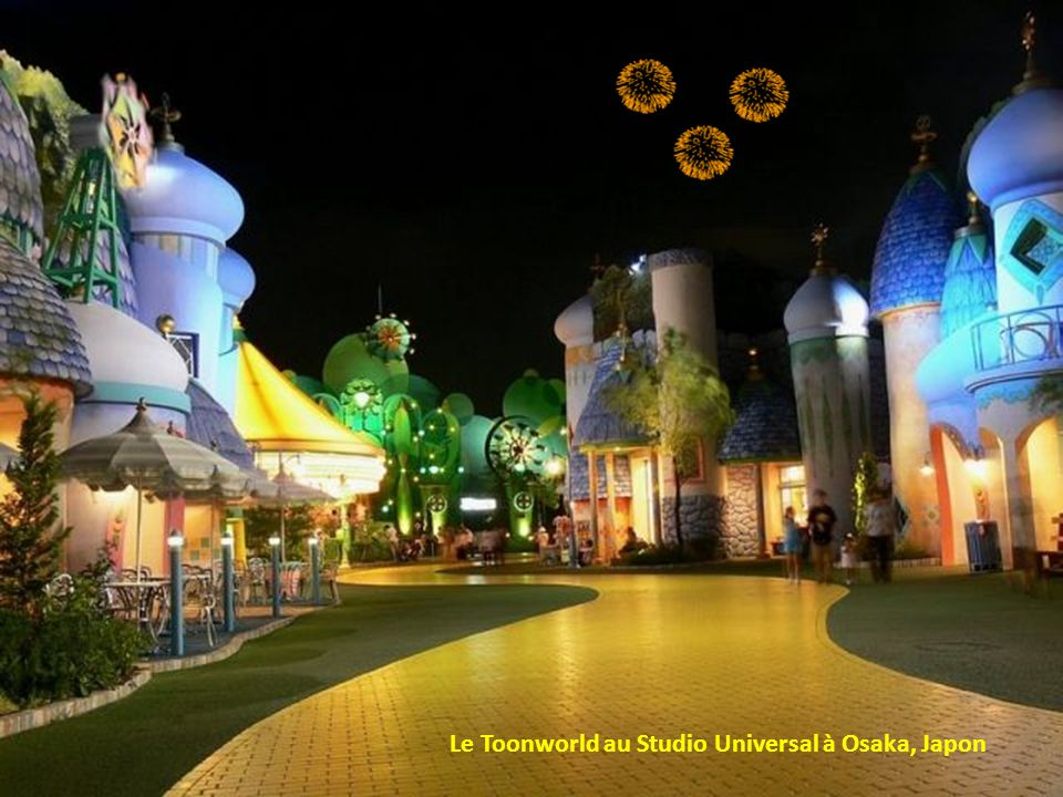 Le Toonworld au Studio Universal à Osaka, Japon
