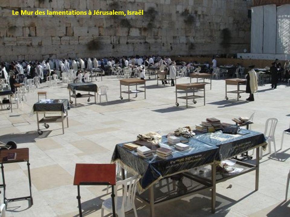 Le Mur des lamentations à Jérusalem, Israël