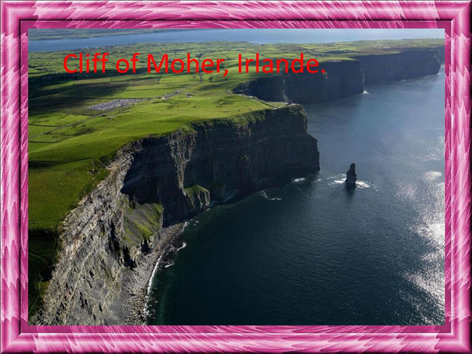 Cliff of Moher, Irlande.