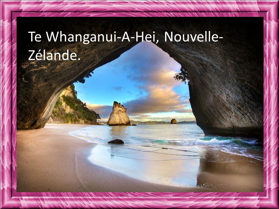 Te Whanganui-A-Hei, Nouvelle-Zélande.