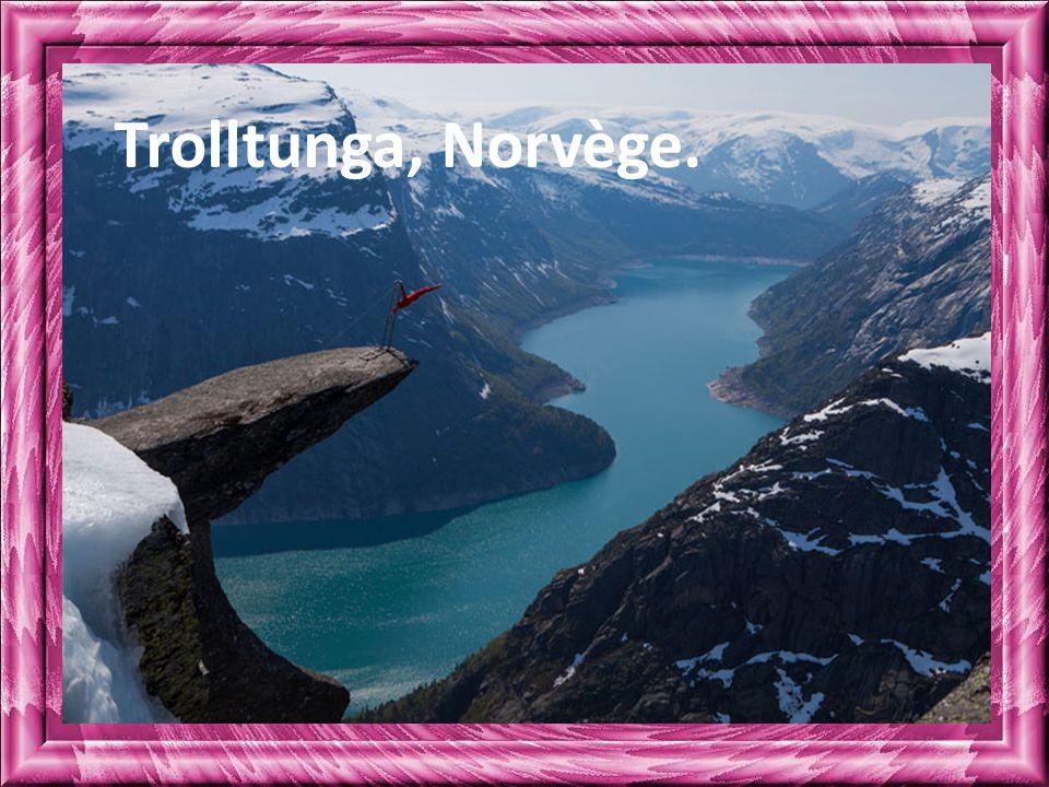 Trolltunga, Norvège.