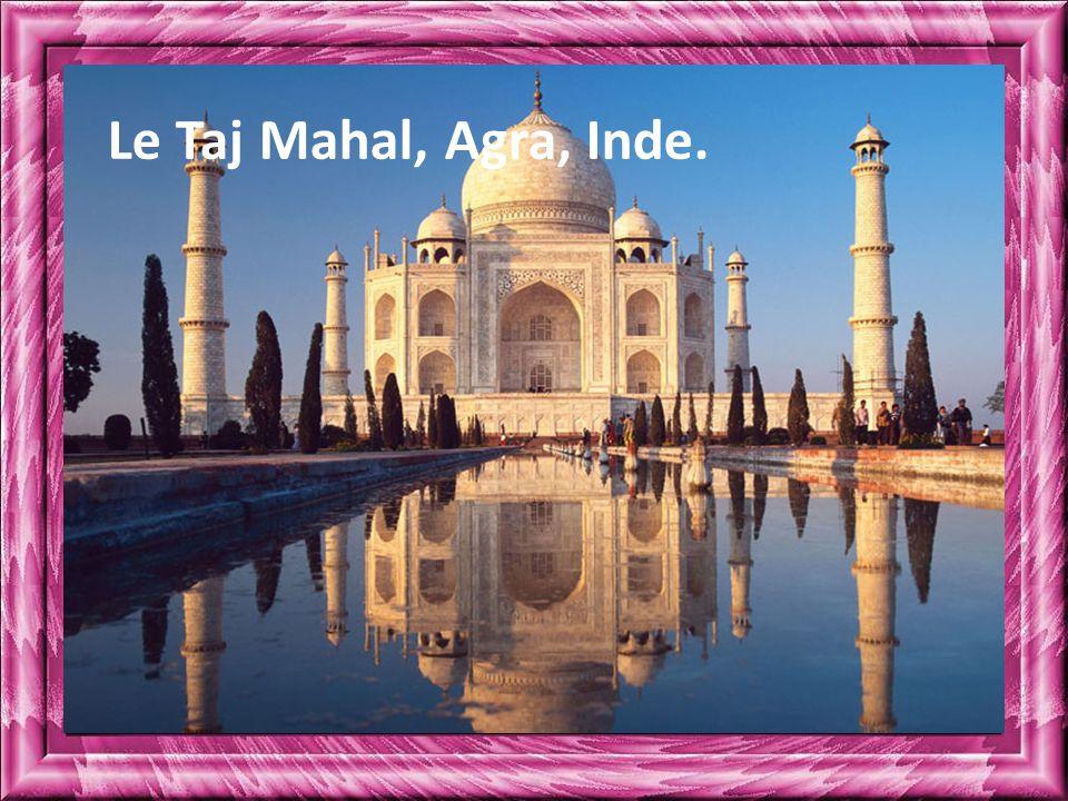 Le Taj Mahal, Agra, Inde.