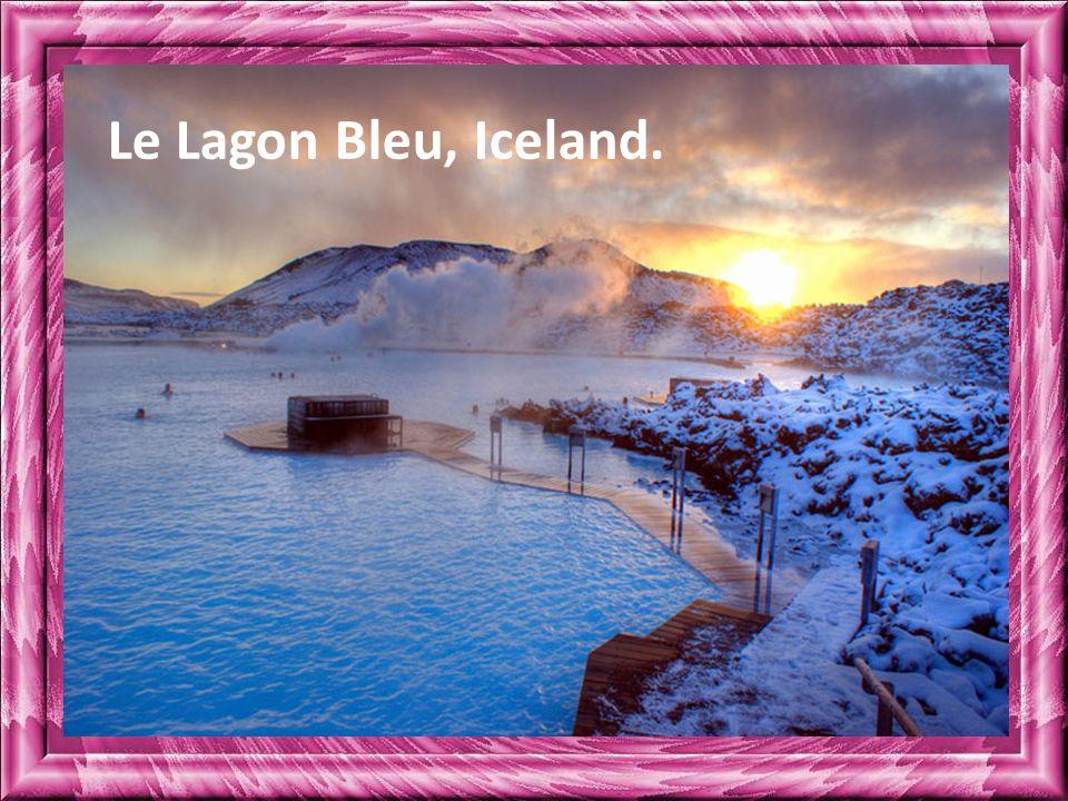 Le Lagon Bleu, Iceland.