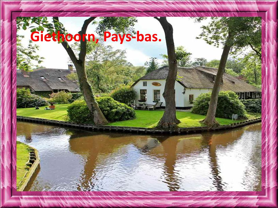 Giethoorn, Pays-bas.