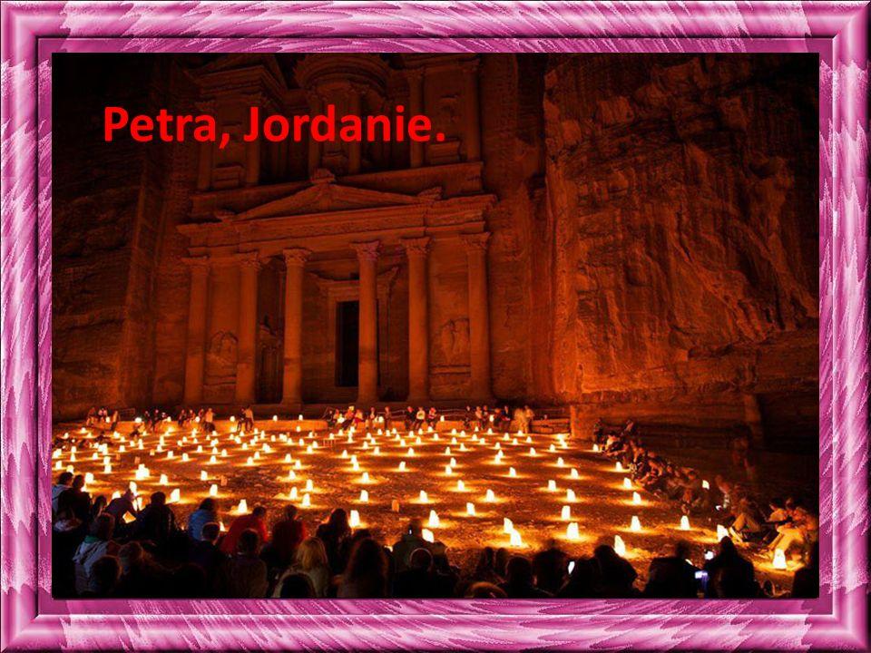Petra, Jordanie.
