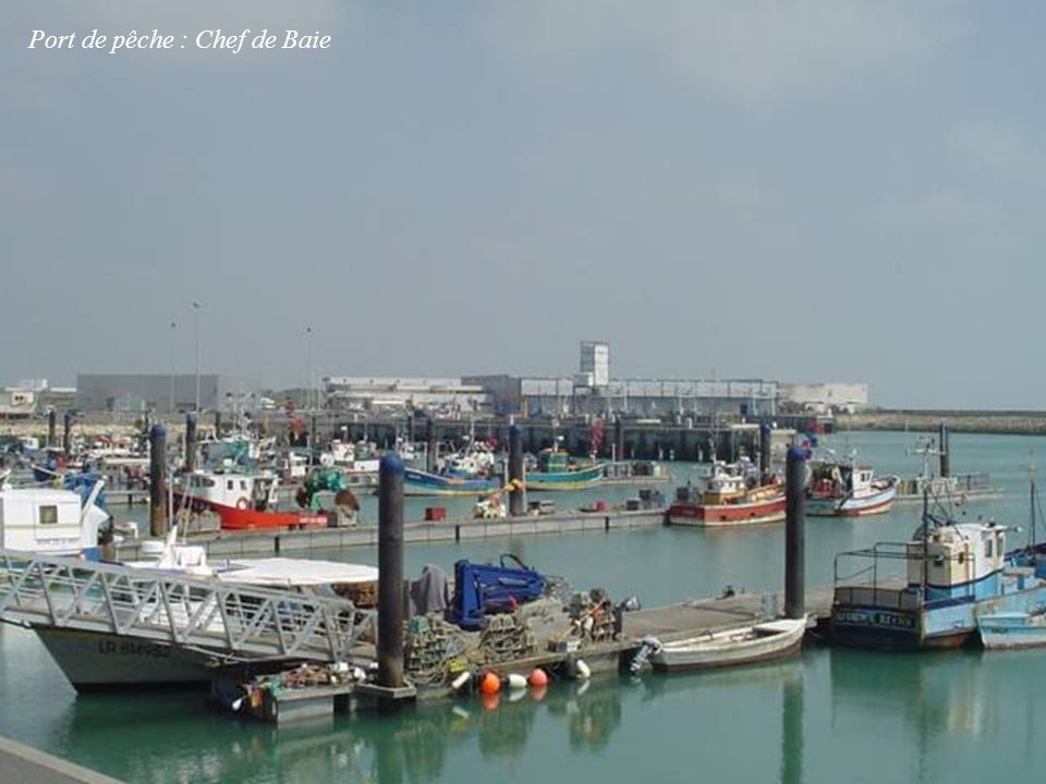 Port de pêche : Chef de Baie