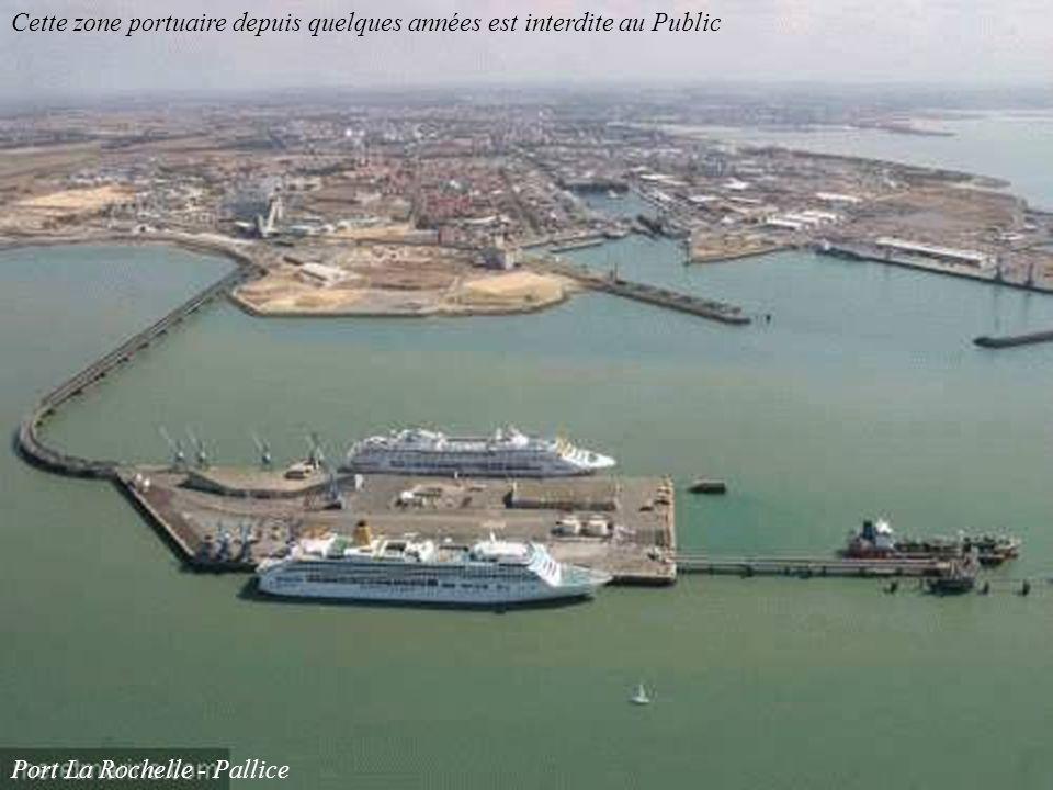 Cette zone portuaire depuis quelques années est interdite au Public