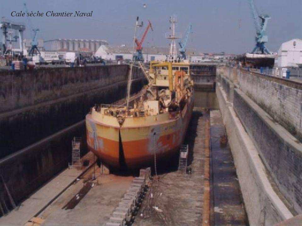 Cale sèche Chantier Naval