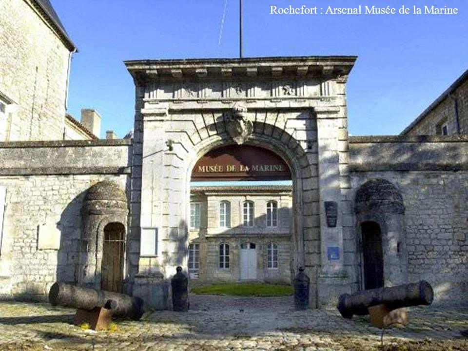 Rochefort : Arsenal Musée de la Marine
