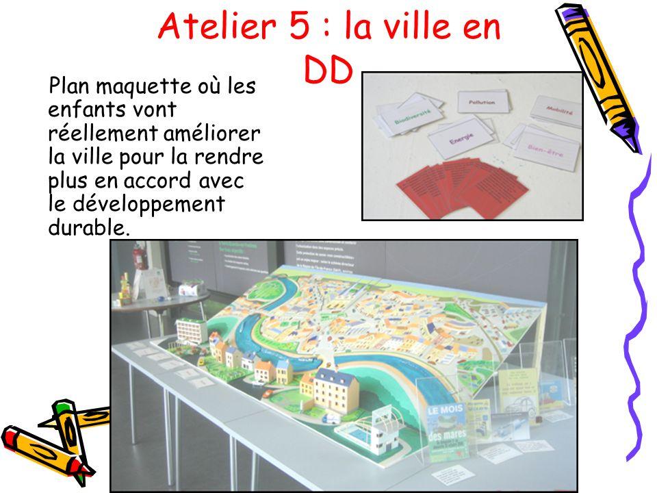 Atelier 5 : la ville en DD