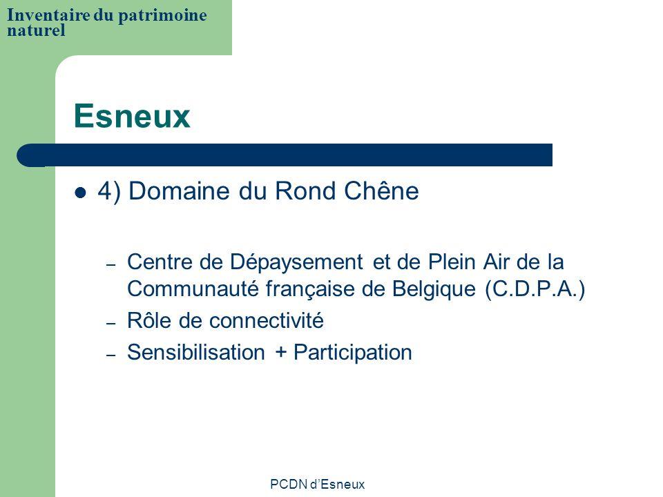Esneux 4) Domaine du Rond Chêne