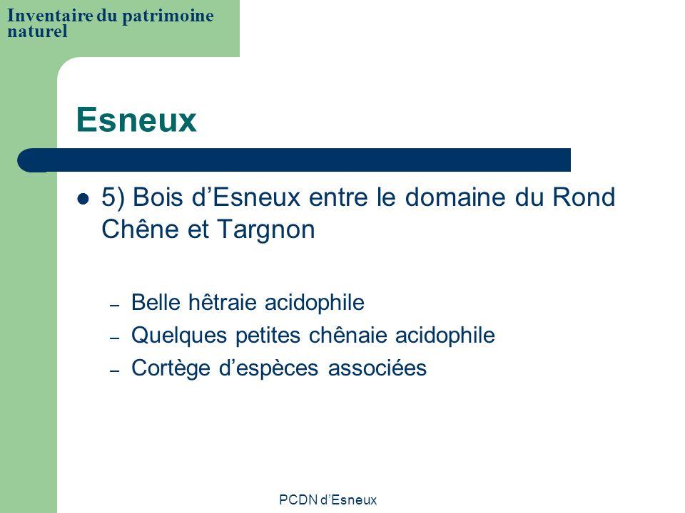 Esneux 5) Bois d'Esneux entre le domaine du Rond Chêne et Targnon