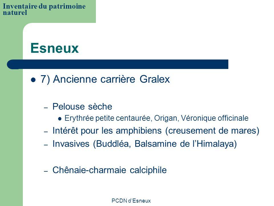 Esneux 7) Ancienne carrière Gralex Pelouse sèche