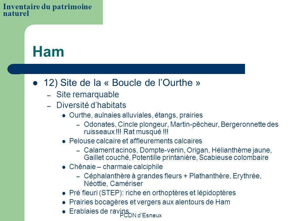 Ham 12) Site de la « Boucle de l'Ourthe »