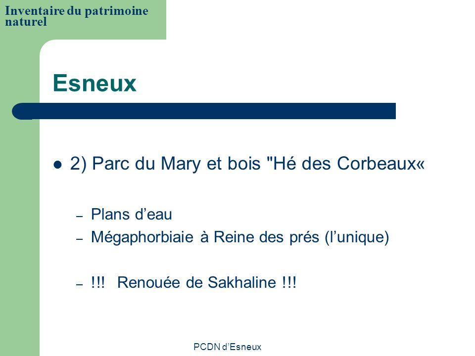 Esneux 2) Parc du Mary et bois Hé des Corbeaux« Plans d'eau