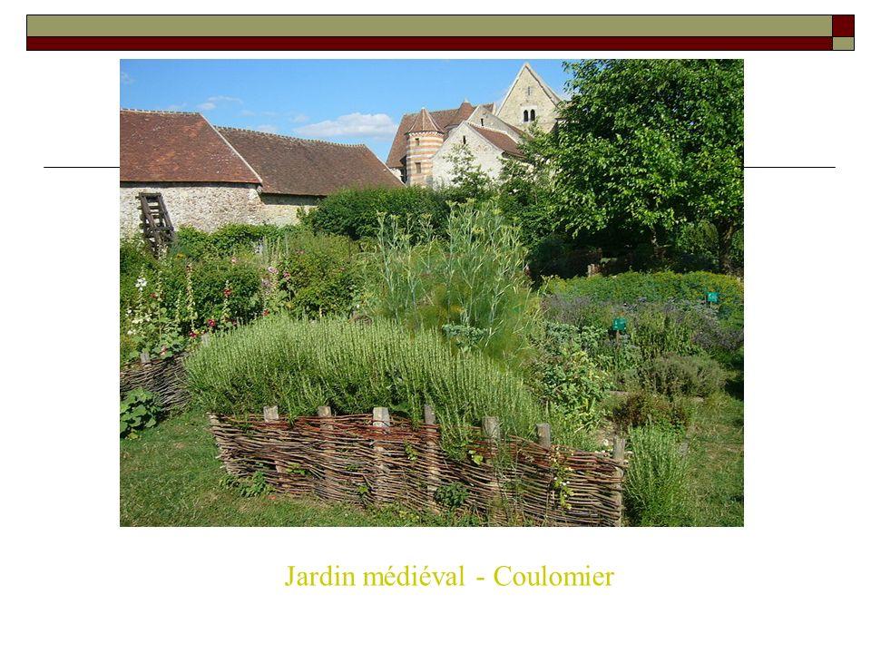 Jardin médiéval - Coulomier