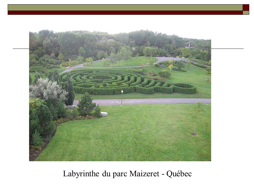 Labyrinthe du parc Maizeret - Québec