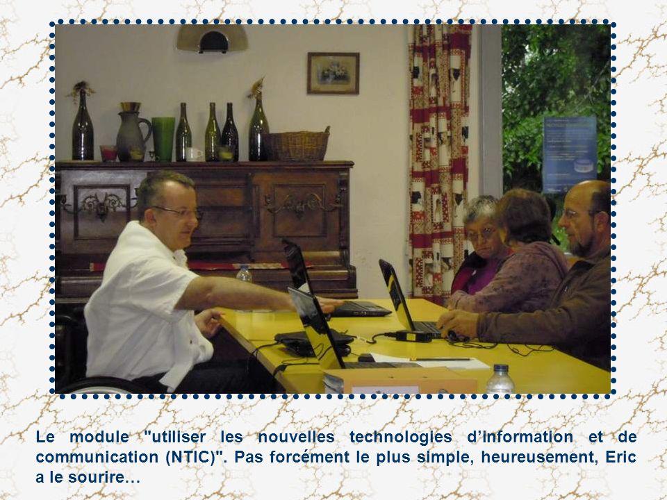 Le module utiliser les nouvelles technologies d'information et de communication (NTIC) .