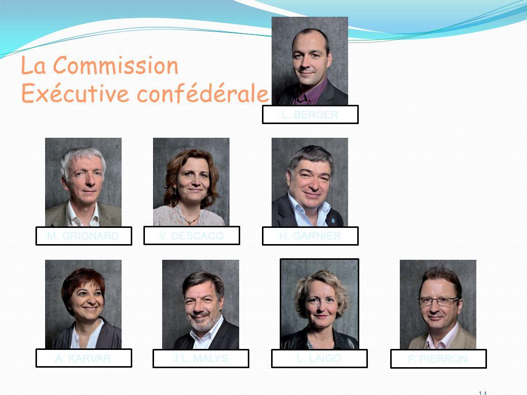 La Commission Exécutive confédérale