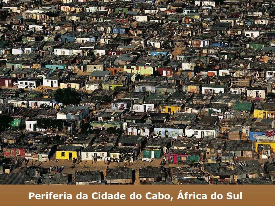 Periferia da Cidade do Cabo, África do Sul