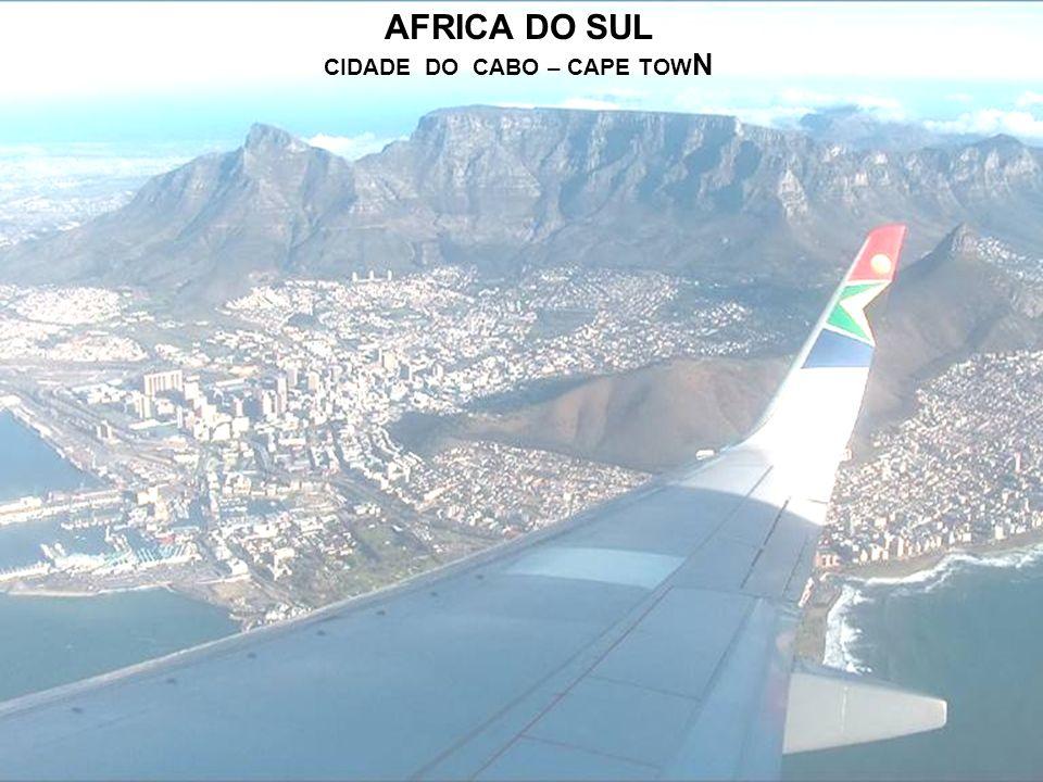 AFRICA DO SUL CIDADE DO CABO – CAPE TOWN