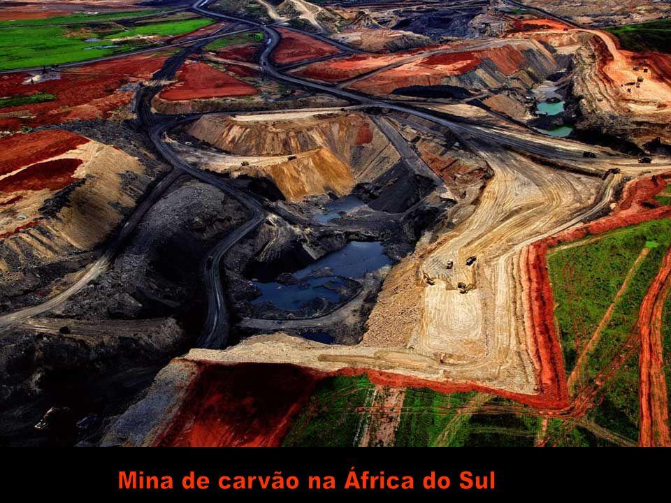 Mina de carvão na África do Sul