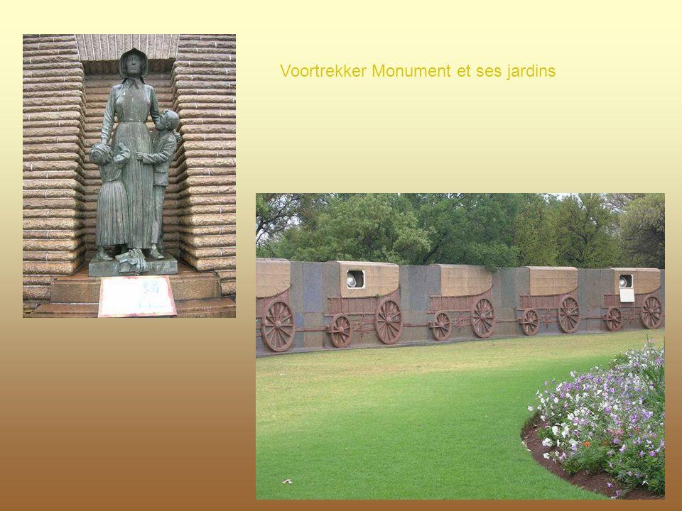 Voortrekker Monument et ses jardins