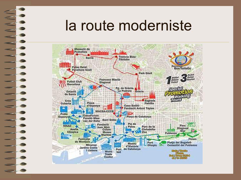 la route moderniste