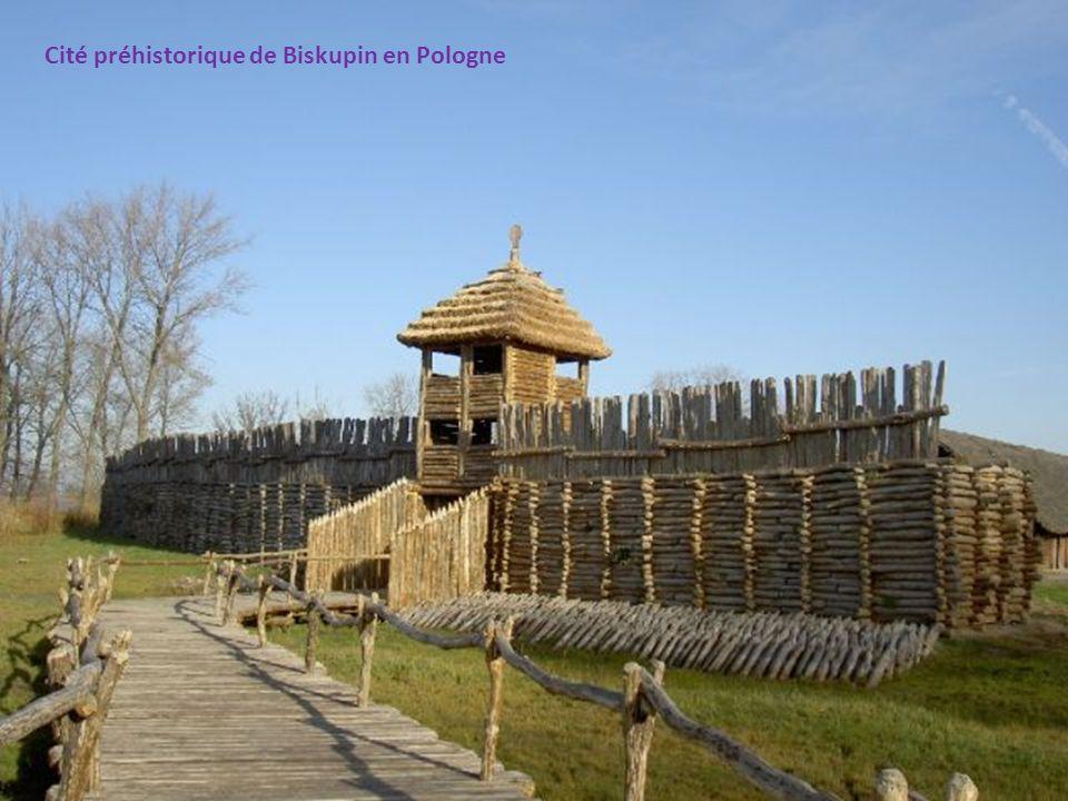 Cité préhistorique de Biskupin en Pologne
