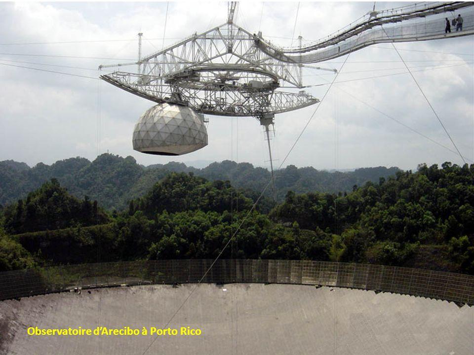 Observatoire d'Arecibo à Porto Rico