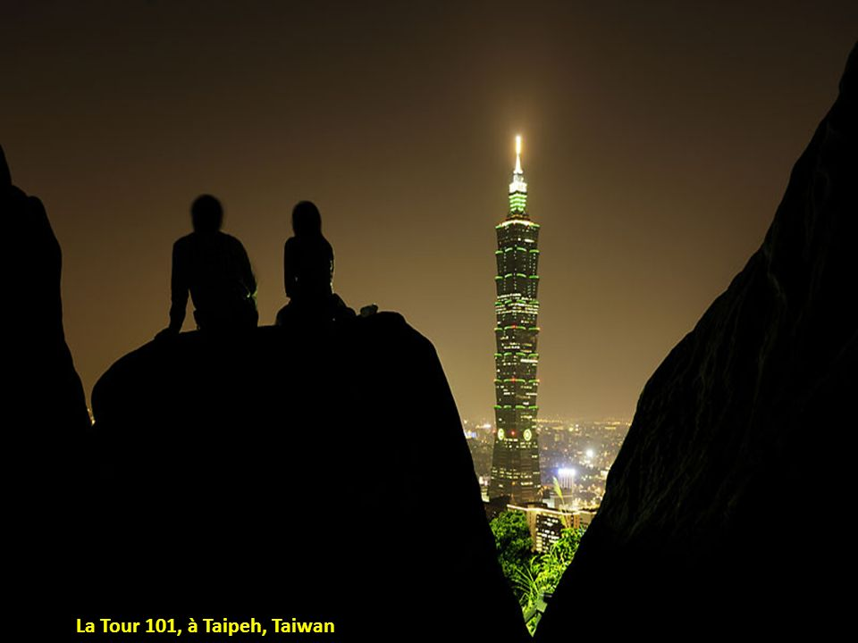 La Tour 101, à Taipeh, Taiwan
