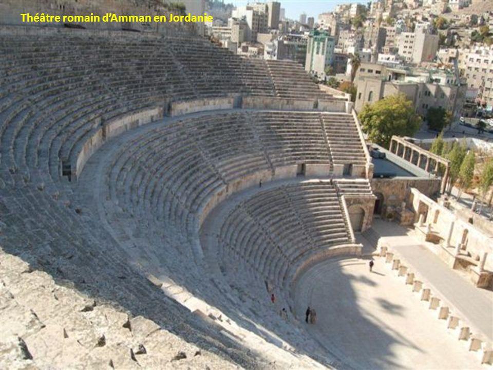 Théâtre romain d'Amman en Jordanie