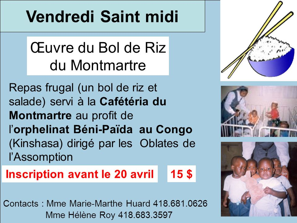 Inscription avant le 20 avril