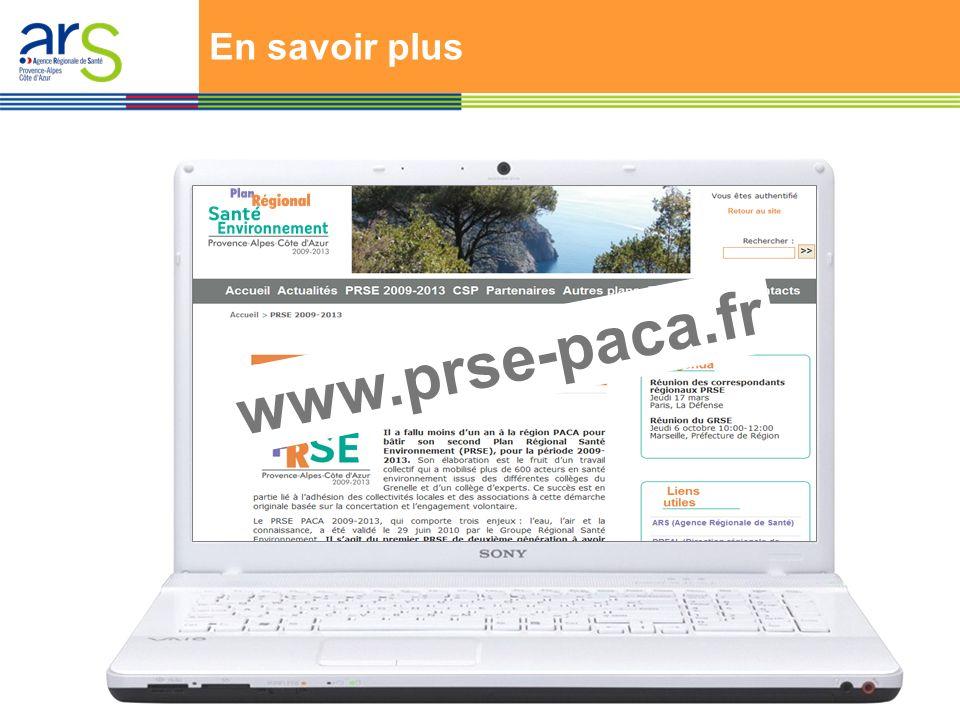 En savoir plus www.prse-paca.fr