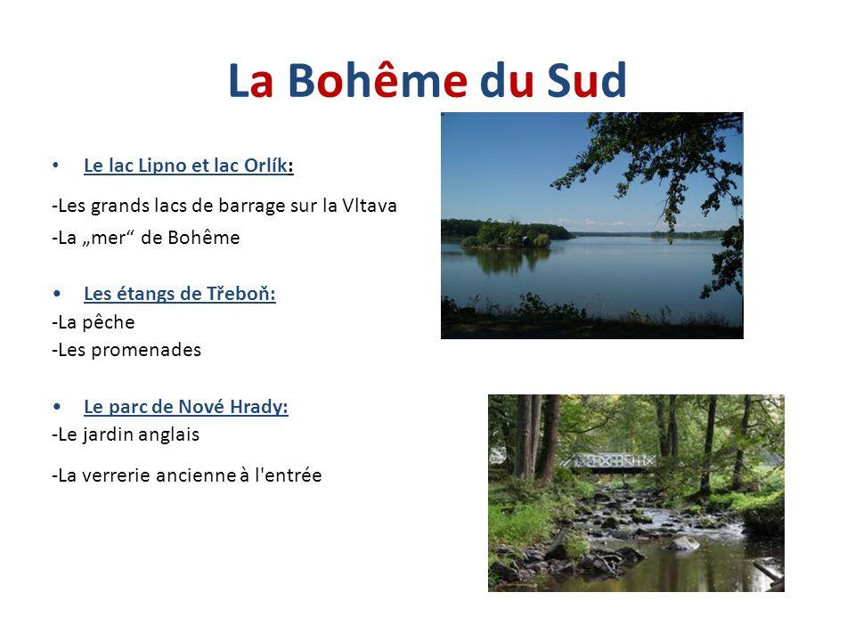 La Bohême du Sud Le lac Lipno et lac Orlík: