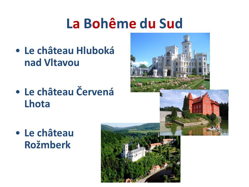 La Bohême du Sud Le château Hluboká nad Vltavou
