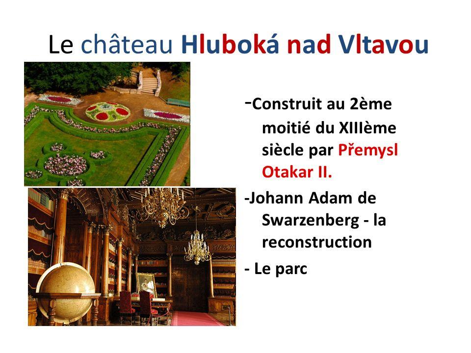 Le château Hluboká nad Vltavou