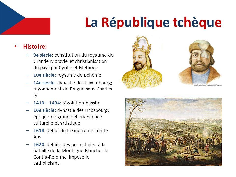 La République tchèque Histoire:
