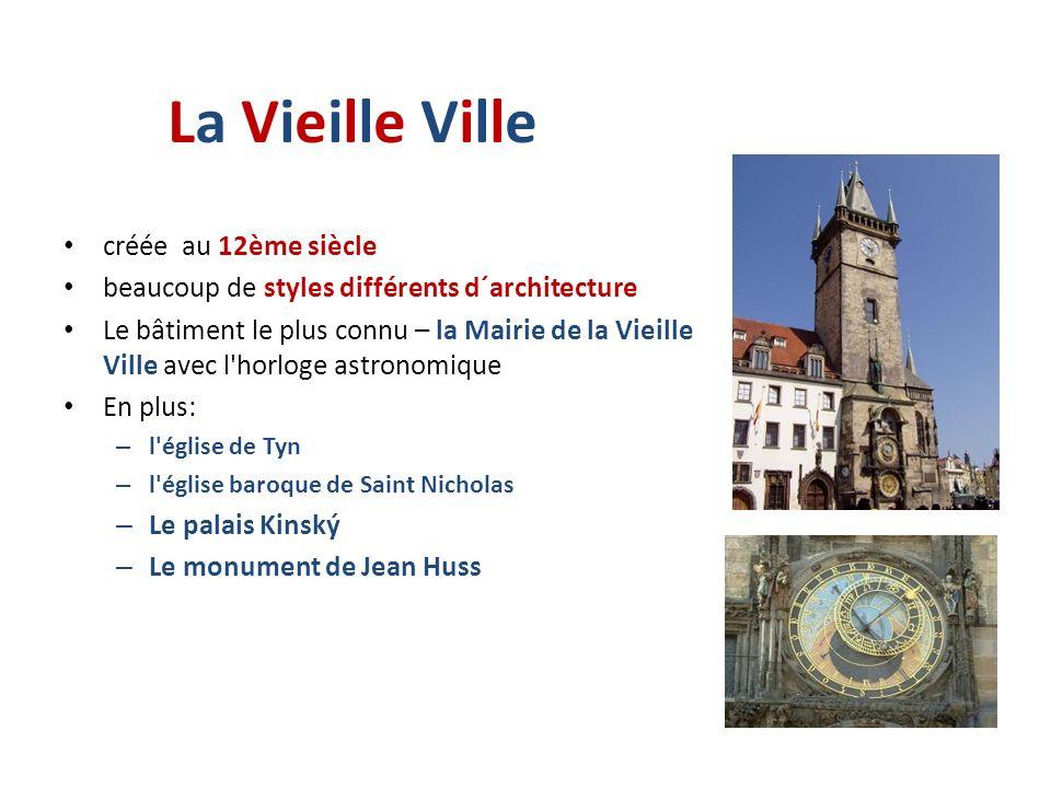 La Vieille Ville créée au 12ème siècle