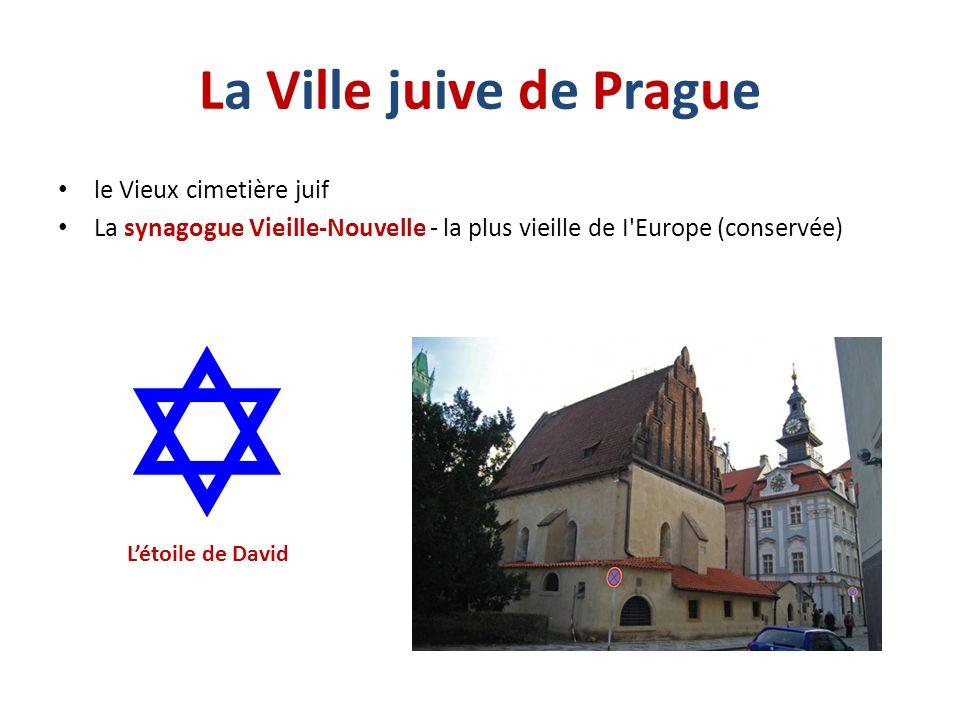 La Ville juive de Prague