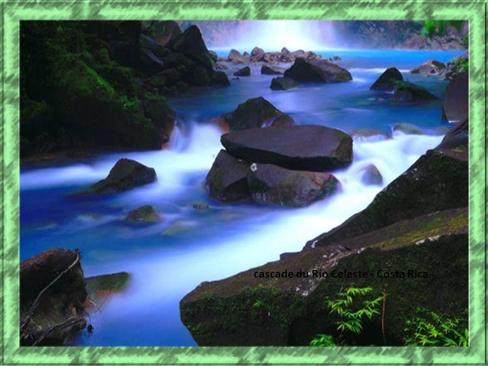 cascade du Rio Celeste - Costa Rica